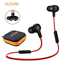 Bluetooth Stereo Headset Wireless Sport Music Headphones Magnetic Earpiece with Mic Hands Free For iPhone & Android Smart Phone