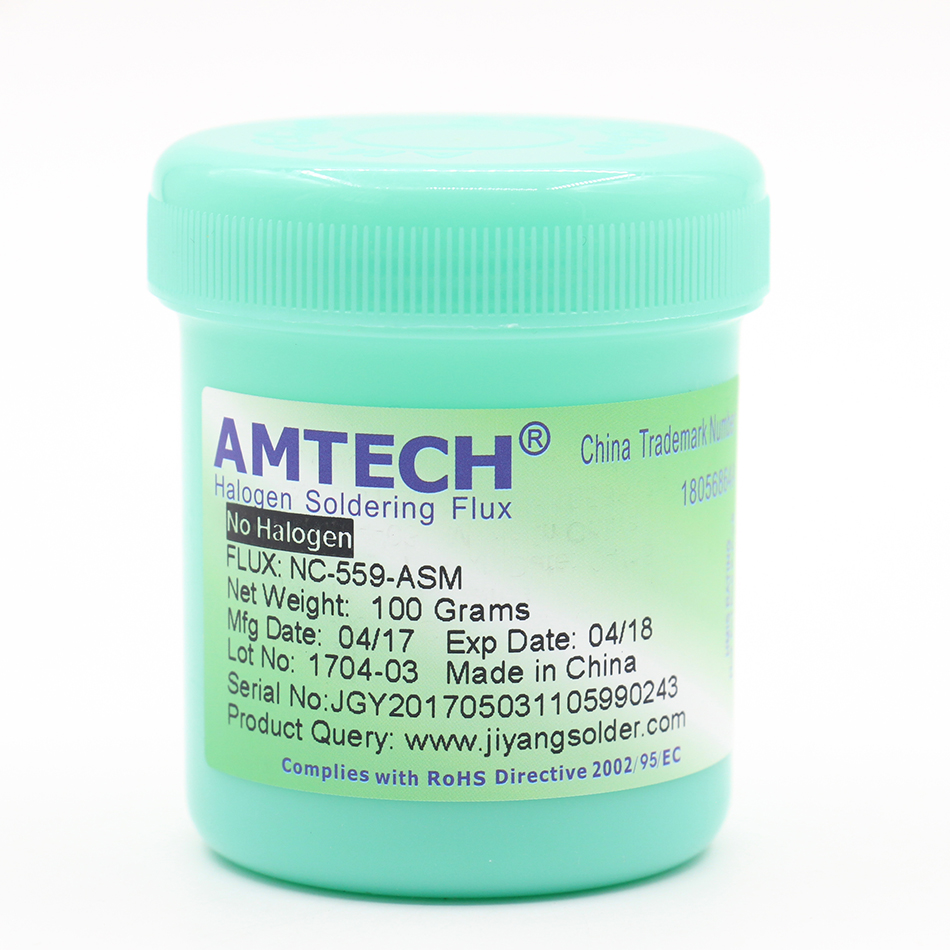 Genuine AMTECH NC-559-ASM 100g Leaded Free Soldering Flux Welding Paste!(China (Mainland))
