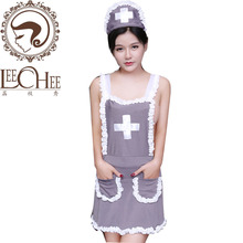 Buy Leechee Q712 Fun sexy underwear nurse uniform temptation role play club cosplay game installed sexy lingerie porn costumes