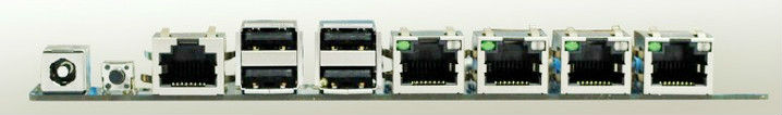 Net server motherboard thin client board with Intel Atom D2550+NM10 Chipset 4*Lan port(China (Mainland))