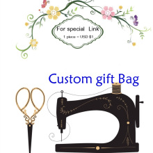 Custome Linen Velvet Cotton Bag MOQ 100piece can print wedding birthday logo buyer design 1piece is USD$1(China)