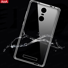 For xiaomi redmi 3s pro cases silicone cover redmi 3 3 s 4X 4 pro prime 4A case Note 4 4X mi5 mi6 mix max Transparent TPU case