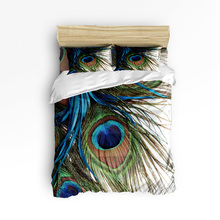 Buy Peacock Feather Bedding And Get Free Shipping On Aliexpress Com