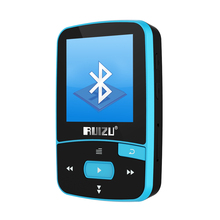 Original RUIZU X50 Mini Sport Clip mp3 player bluetooth 8GB Lossless music player Support TF Card, FM Radio, Recording, E-book..(China)