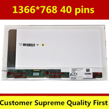 "1366*768 40 pins 15.6"" LCD SCREEN For Packard Bell EasyNote NEW95 PEW91 NEW90 Laptop LED Display"