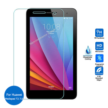 For Huawei Mediapad T2 7.0 Tempered Glass Screen Protector 2.5 9h Safety Protective Film on Mdeia pad T 2 7 BGO-DL09 BGO-L03(China)