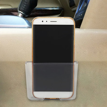 Multifunctional Mini Car Cell Phone Holder Mobile Phone Charge Box Holder Pocket Organizer Car Seat Bag Storage Auto Accessories