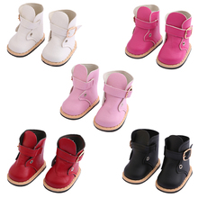 5 Pairs Fashion Colorful High Heels doll Accessories 18in Doll Shoes Dress up Baby Born Prop Girl Baby Best Gift Toys