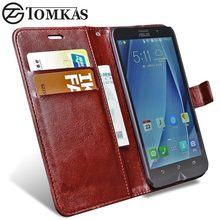 Case For ASUS ZenFone 2 Laser ZE500KL Flip Wallet Leather Phone Bag Cover For Zenfone 2 Laser ZE500KL Lazer ZE500KG Case Cover(China)