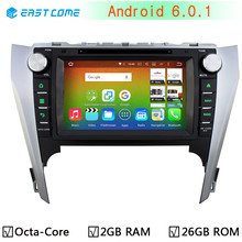 HD 1024X600 FOR Toyota Camry 2012 2013 2014 Aurion Octa Core 2GB RAM Android 6.0.1 Car DVD Player Radio Bluetooth GPS system