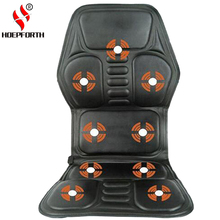 New Heated Back Massage Seat Topper Car Home Office Seat Massager Heat Vibrate Cushion Neck Massage Chair Massage Relaxation(China)