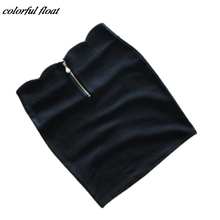 skirts Spring ladies stretch cotton bag hip skirt a Korean version of the A word bust wholesale fashion personality(China)