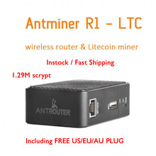 BITMAIN R1 LTC шахтер antrouter Портативный LTC Шахтер Scrypt ASIC добычи Litecoin машина + Wi-Fi роутера USB R1-LTC(China)