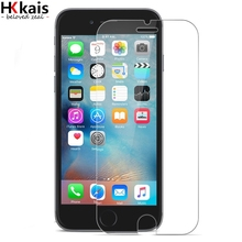 HKkais Tempered Glass for Iphone 6 S Plus Ballistic Glass for Iphone7 PLus Screen Protector For Iphon 7 5 5s SE 4S 4 Glass Cover