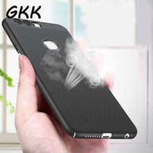 GKK Heat dissipation phone hard Back PC Case For Huawei P10 P9 lite Plus Full Cover Case For Huawei Honor 9 8 lite Protect shell(China)