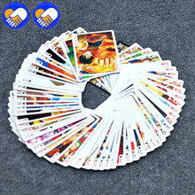 A TOY A DREAM 54 pcs/pack Anime One Piece&Natsume&Hatsune&Naruto&Grim Reaper Collection Playing Poker Cosplay Board Game Cards