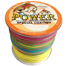 Braided fishing line 300m Multi Color Super Strong Japan Multifilament PE braid line 10 20 30 40 60 80 100LB(China)