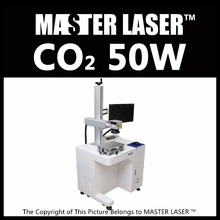 Low Price High Quality 50w CO2 Laser Marking Machine Universal 50W RF Laser with Industrial Computer Laser Engraving Machine