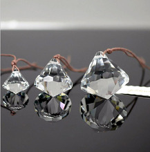 Crystal Glass Hanging Star Shape Ball Quartz Sphere Ornaments Home Wedding Party Decoration Crafts Chandelier Curtain Pendants