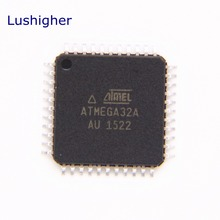 5PCS ATMEGA32A-AU QFP ATMEGA32 ATMEGA32A TQFP44 Programmable Flash new and original