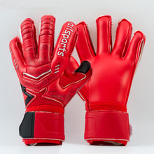 2017 New Men professional Goalkeeper Gloves Soccer football Gloves-latex Plam Goal Keeper Gloves De Futebol Gloves sports safety