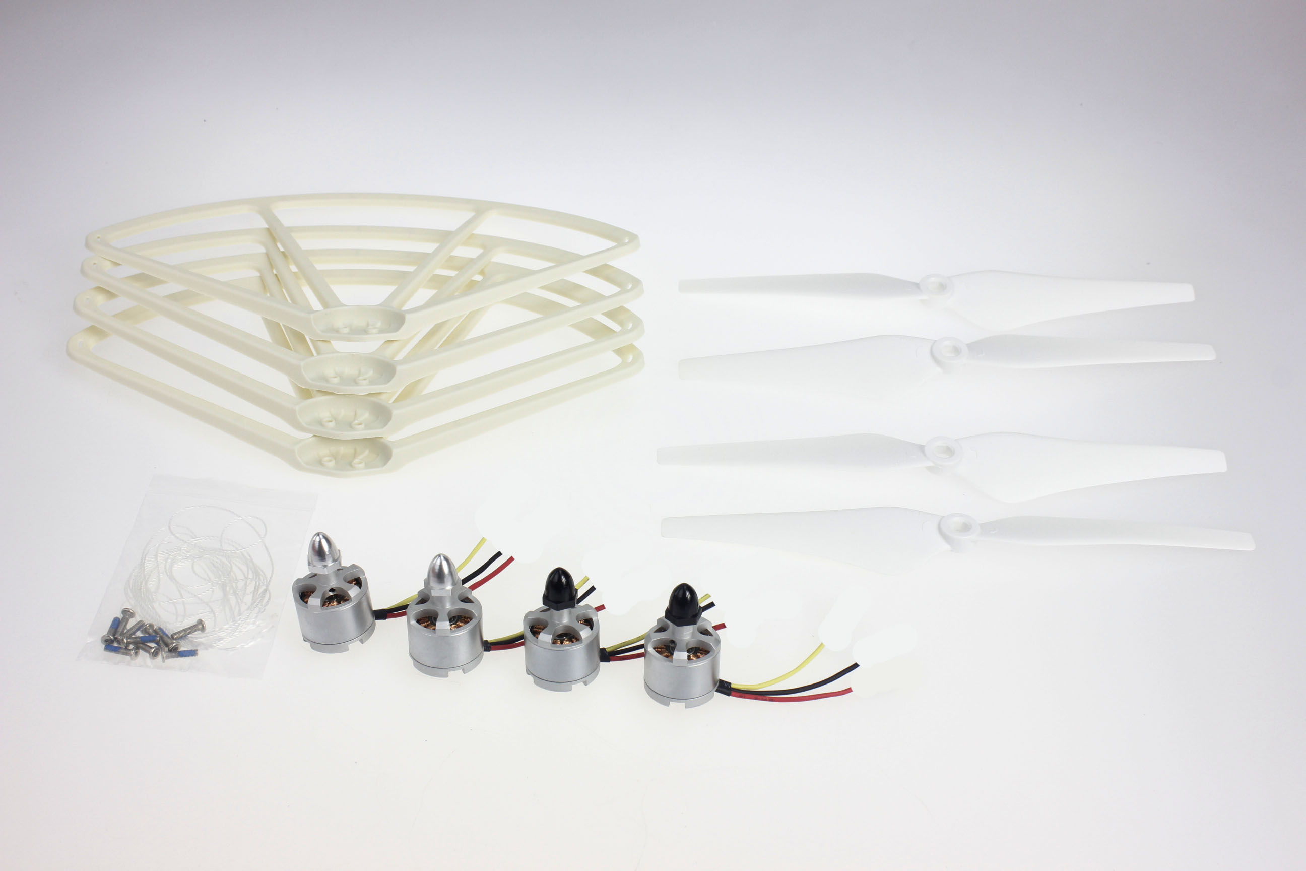 F14711-B CW CCW 2212 920KV Brushless Motor 9443 Props Propeller Guard Bumper Protector for RC Quadcopter  Phantom 1 2 Drone<br>