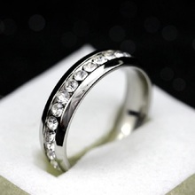 Uloveido Rings for Women Black Men's Rings with Stone Silver Jewelry CZ Diamond Jewelry Ring Anel Bague Femme Aneis YL006