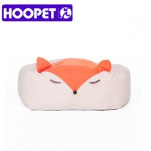 HOOPET Cute Cartoon Dogs Bed Puppy Soft Cat Dog Sleeping Bed House Kennel Pad Cushion Mat Pet Supplies Three Styles(China)