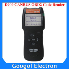 2015 Version D900 CANBUS OBD2 Code Reader Live Data D900 OBD2 Scanner Free Shipping
