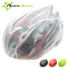Rockbros Cycling Helmet Covers Ultralight Waterproof Dust-proof MTB Bike Bicycle Rain Helmet Covers Cubierta De Casco 4 Colors
