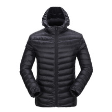 New Style White Duck Down Jacket Outdoor Sport Coat Winter Thermal Parkas of Men for Camping Skiing Snowboarding 6535A