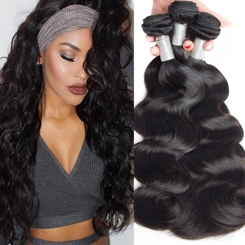 Brazilian Techniques For Men Virgin Human Hair Weave Extensions