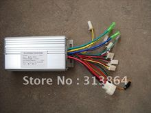 Sensor/Sensorless 60/120degree universal model 48V 500W/600W 30A Brushless DC Motor Controller/Electric Bike Speed Controller(China)
