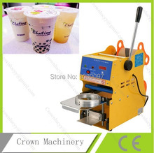 Digital Manual Plastic cup sealer in sealing machines for sale