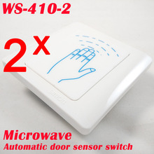 Fast express delivery 2 pcs Microwave Contactless motion sensor switch for automatic door opener(China)