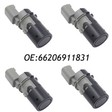 4PCS Parking Sensor PDC 66206911831 Fit BMW E46 66206989067 69899069  66216938737 66202184368 66200143461 66206989069