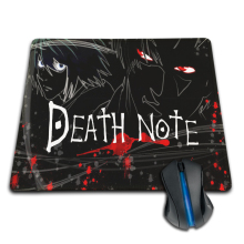 Death Note Funny Mat Free Shipping Mouse Pad Rubber Mat Two Sizes
