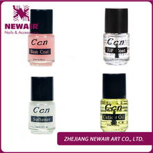 Quality Nursing Oil Top Coat +Base Coat +Cuticle Oil +Softener To Add Calcium Bottom Oil Mirror Light Oil Nail Polish Kit