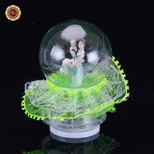 WR Green Christmas Ornaments Balls Snow Glass Balls Home Room Decorations Best Gift for Kid Girl Boy Lover Gifts