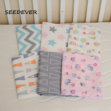 1pc baby bed sheet 100% cotton fashion style Europe baby bed line baby crib bedding set  Infant Cot Sheets Boys Girls