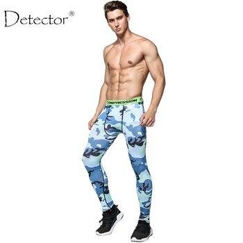 Detector de Mallas Hombres Jogging Deporte Pantalones de Compresión de Fitness Ejercicio GIMNASIO Polainas de Fibra de la Leche Pantalones de Secado rápido