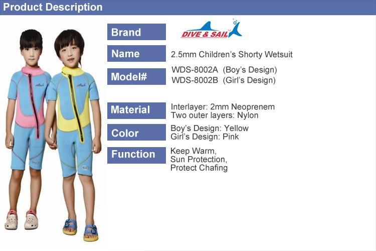 WDS-8002-15-Children-Wetsuit-2.5mm-Neoprene-Thick-Swimsuit-for-Winter-Autumn-Spring-Shorty-Swimwear