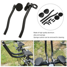 Bike Rest Handlebar Mountain Bicycle Race Rest Handle Bar Accessories Cycling Aluminum Alloy Tube Handlebar Bicycle Parts Hot(China)