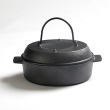 Thicken Cast Iron Cooker Mini Cast Iron Frying Pan Grill Cooker Kitchen Cookware Cooking Tools For Potatoes Corn(China)