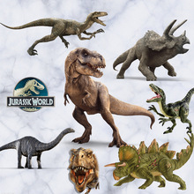 DIY Jurassic Dinosaur 3D Stereo Wall Stickers Kids Room Bedroom Arrangement Animal Stickers Paper Home Decorative Accessories