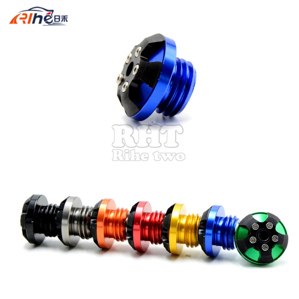 7 colors M20*2.5 motorcycle CNC magnetic engine oil cup  for honda magna 750 pcx 125 150 shadow 1100 triumph daytona 765r 09-12<br><br>Aliexpress