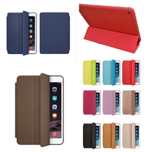 With Logo , for apple ipad air 1 Super Slim Smart cover  case original ultra flip PU stand cases