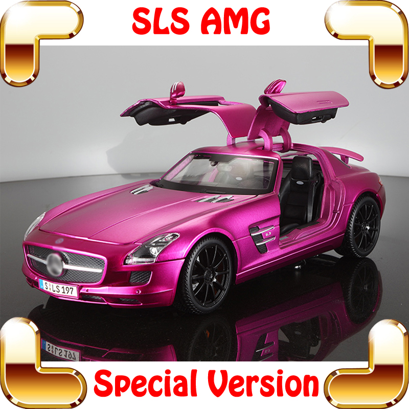 New Arrival Gift SLS 1/18 Metal Model Sports Car Gull-wing Door Vehicle Toys Alloy Collection Metallic Diecast Elegant Present<br><br>Aliexpress