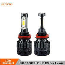 2x 9005 9006 H11 H8 H9 Car LED Headlights Bulb 16000LM 12V For Lexus RX300 IS250 GS300 RX RX330 RX350 LX470 GX470 LX570 GS
