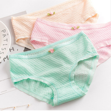 Buy Wholesale women Briefs cotton solid color girl panties ladies casual underwear sexy lingerie female underpants sexy panty